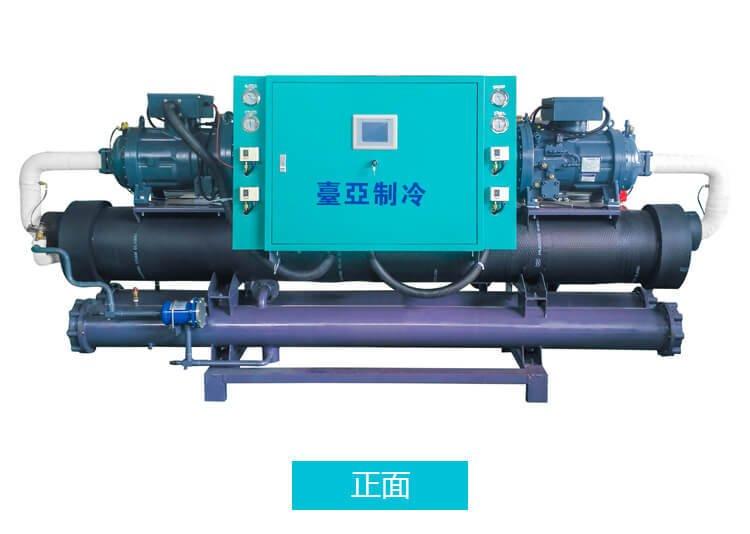 螺杆式冷水機組合配件的性能因素分析
