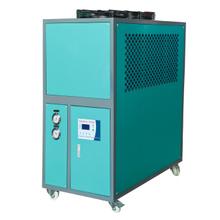 食品行業風冷式低溫冷水機5HP